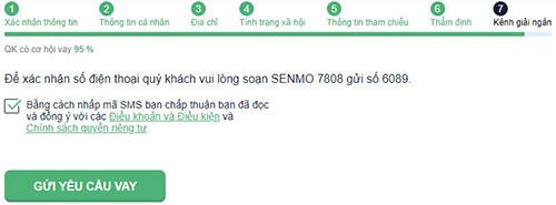 Hướng dẫn vay tiền SenMo nhanh nhất